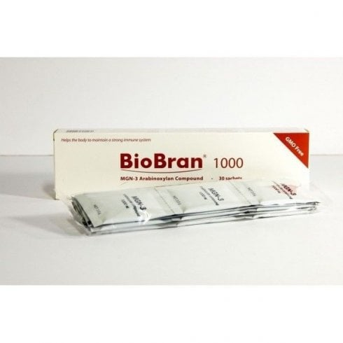 The Really Healthy Company Biobran 1000mg 30 sachets