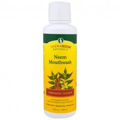 Theraneem Naturals Neem Mouthwash Cinnamon Therape 16floz