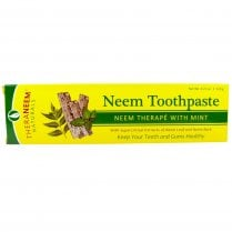 Theraneem Naturals Neem Toothpaste Neem Therape with Mint 120g