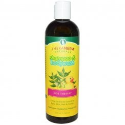 Theraneem Naturals Shampoo & Bodywash Therape For Kids 12floz
