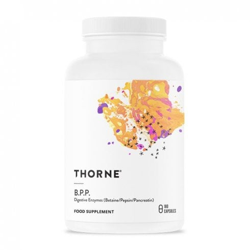 Thorne Research B.P.P. (Betaine/Pancreatin/Pepsin) 180's (Currently Unavailable)