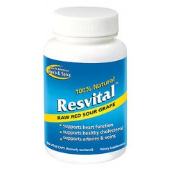 Resvital 120g powder (red sour grape)