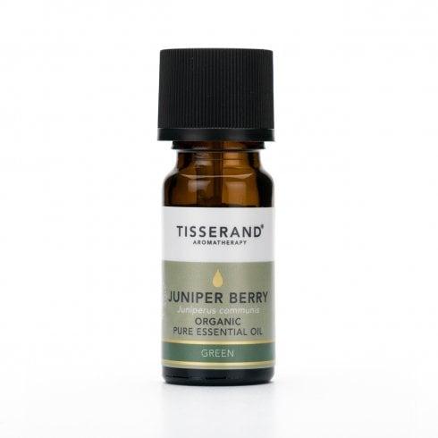 Tisserand Juniper Berry Organic Pure Essential Oil 9ml