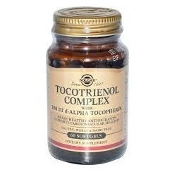 Tocotrienols 45mg vitamin E complex, 60's