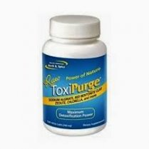 ToxiPurge Caps 120's (sodium alginate, red bentolite clay & chlorella)
