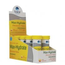 Trace Minerals Max-Hydrate Endurance - 40 Effervescent Tablets (Citrus Flavour)