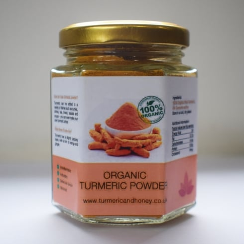 Turmeric and Honey Organic Turmeric Powder - 250g
