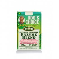 Udos Choice Digestive Enzyme Blend Travel Pack - 21s