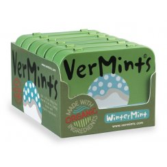 VerMints Wintergreen Mints (Pack of 6 Tins)
