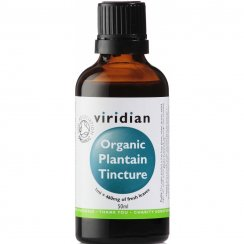 100% Organic Plantain Tincture 50ml