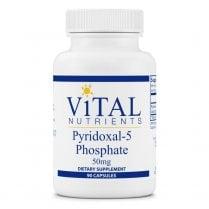 Vital Nutrients Pyridoxal-5 Phosphate 50mg - 90 Capsules