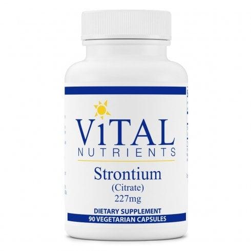 Vital Nutrients Strontium citrate 227mg - 90 Capsules