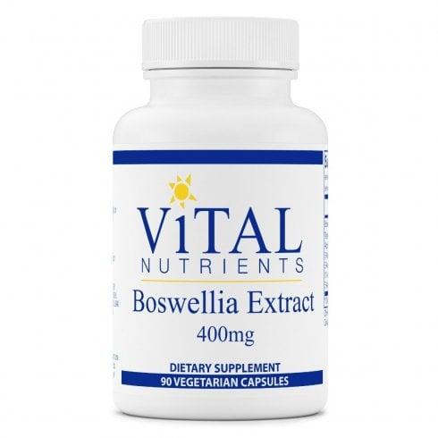 Vital Nutritents Boswellia Extract 400mg - 90 Capsules