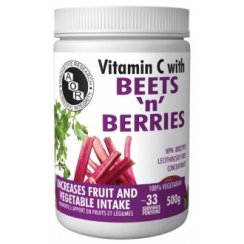 Vitamin C with beets and berries - 500g powder - 33 servings