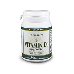 Vitamin D3 50ug - HIGH POTENCY 90's