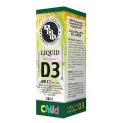 Vitamin D3 Liquid - 400iu - 50ml (Child)