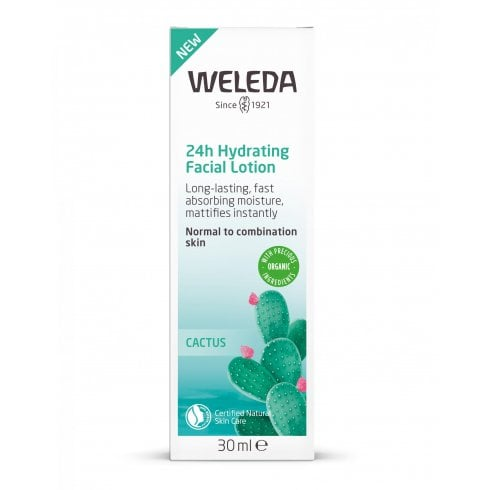 Weleda 24h Hydrating Facial Lotion Cactus 30ml