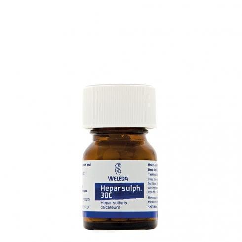 Weleda Hepar sulph. 30C 125's