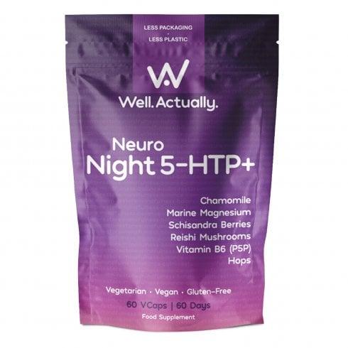 Well.Actually. Neuro Night 5-HTP+ 60's