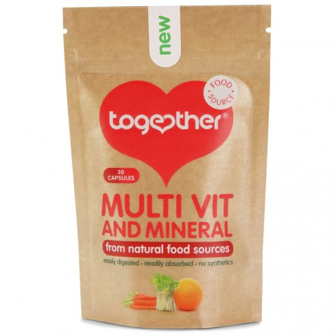 Together Whole Food Based Multivitamin & Mineral (30 Capsules)