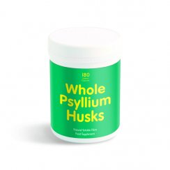 Whole Psyllium Husk 180 caps