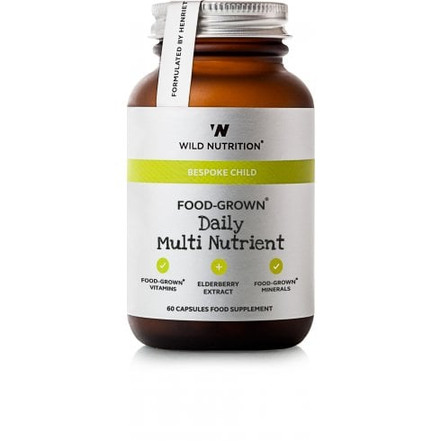 Wild Nutrition Bespoke Child Food-Grown Daily Multi Nutrient 60's
