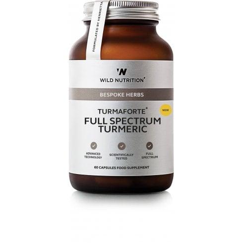 Wild Nutrition Bespoke Herbs Turmaforte Full Spectrum Turmeric 60's