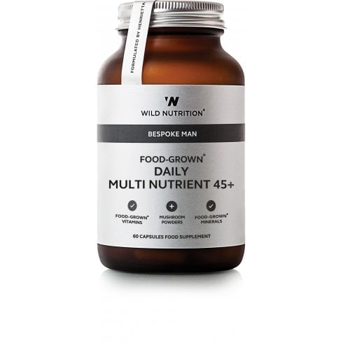 Wild Nutrition Bespoke Man Food-Grown Daily Multi Nutrient 45+ 60's
