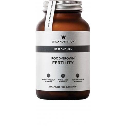Wild Nutrition Bespoke Man Food-Grown Fertility 60's