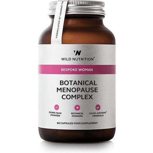 Wild Nutrition Bespoke Woman Botanical Menopause Complex 60's