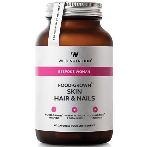 Wild Nutrition Bespoke Woman Food-Grown Skin Hair & Nails 60's