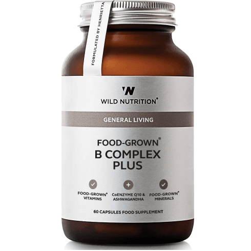 Wild Nutrition General Living Food-Grown B Complex Plus 60's