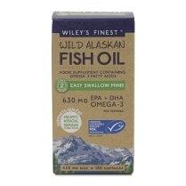 Wiley's Finest Wild Alaskan Fish Oil Easy Swallow Minis 180's