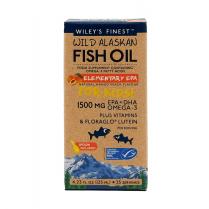 Wiley's Finest Wild Alaskan Fish Oil Elementary EPA for Kids 1500mg 125ml
