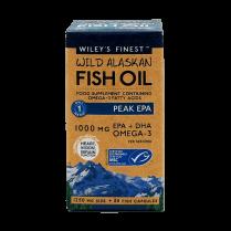 Wiley's Finest Wild Alaskan Fish Oil Peak EPA 1000mg 30's