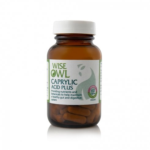 Wise Owl Caprylic Acid Plus 60's