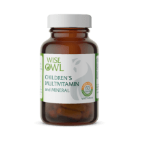 Wise Owl Children's Multivitamin and Mineral 60's