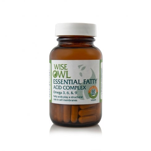 Wise Owl Essential Fatty Acid Complex 60's Currently Unavailable