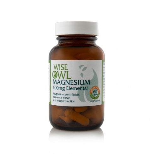 Wise Owl Magnesium 100mg 60's