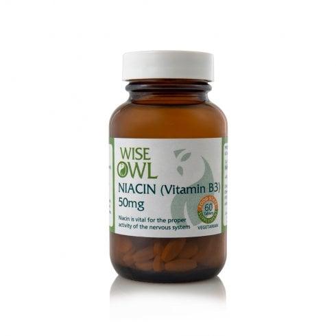 Wise Owl Niacin B3 60's