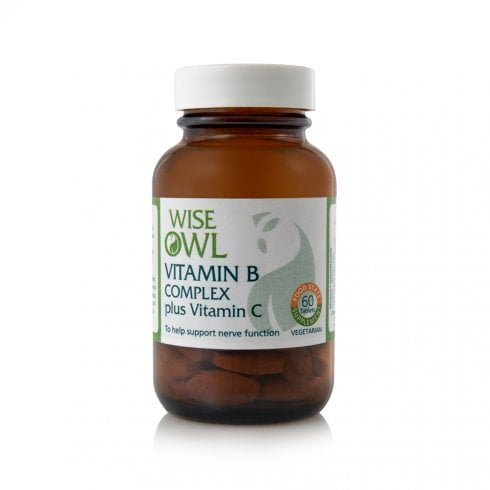 Wise Owl Vitamin B Complex Plus Vitamin C 60's (Currently Unavailable)