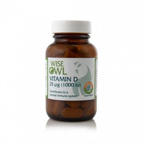 Wise Owl Vitamin D3 2000iu 60's