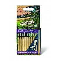 Woobamboo Interdental Brush Picks Assorted
