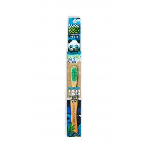 Woobamboo Kids Bamboo Tooth Brush Zero Waste Pack