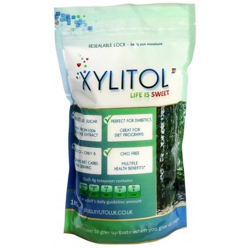 Xylitol Xylitol Sweetener Pouch 1kg