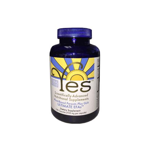 YES Supplements Ultimate Organic EFAs (Peskin PEO's) - 120 Capsules